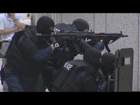 日銀、警察とテロ対策訓練 五輪に向け警備強化
