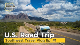 Southwest road trip in a Cruise America RV Rental [Ep. 1]