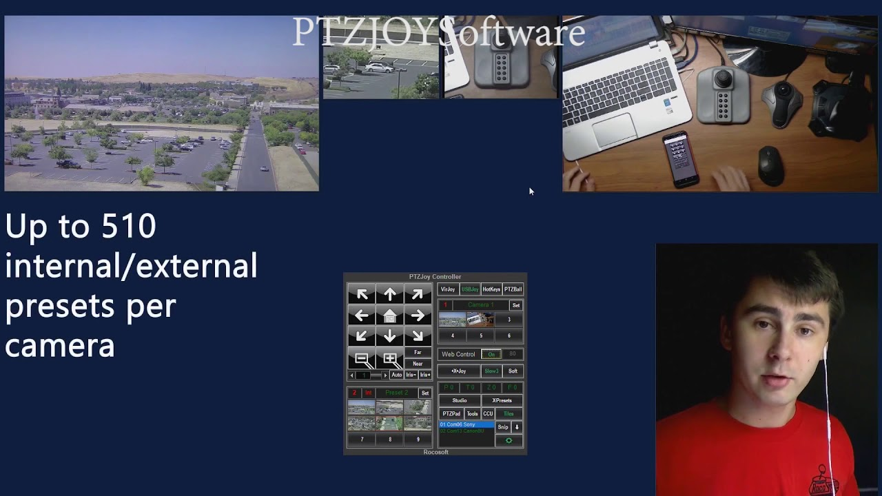 What is ptz control
