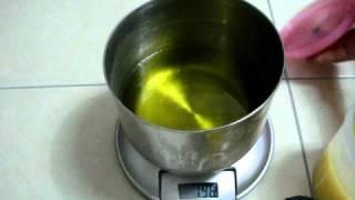 手工皂製作調油與NAOH到切皂與...