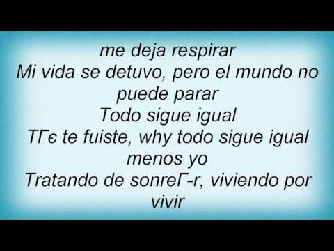 Luis Fonsi - Todo Sigue Igual Lyrics