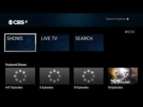CBS All Access For Roku demonstration Video