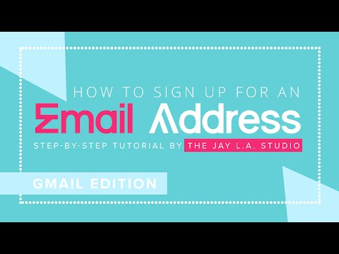 How to Sign Up for an Email Address — Gmail