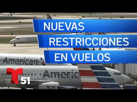 Nuevas Restricciones En Aviones