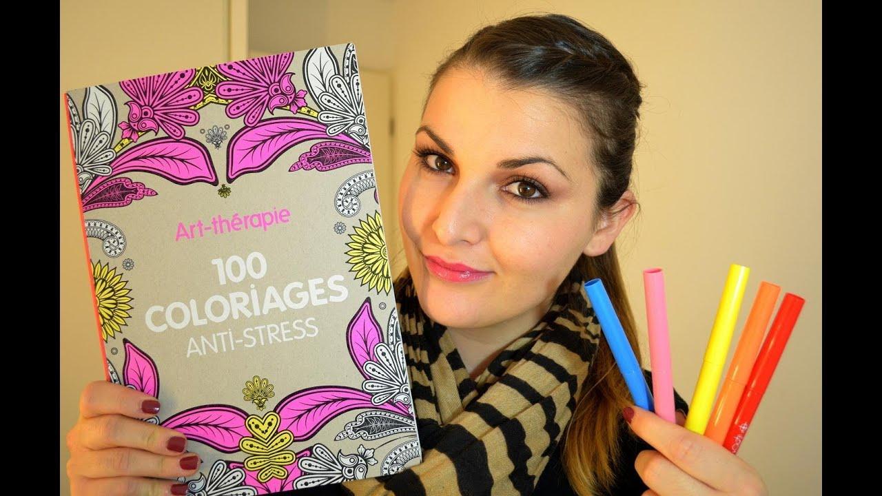 Le livre anti stress 100 coloriages anti stress art for Le stress