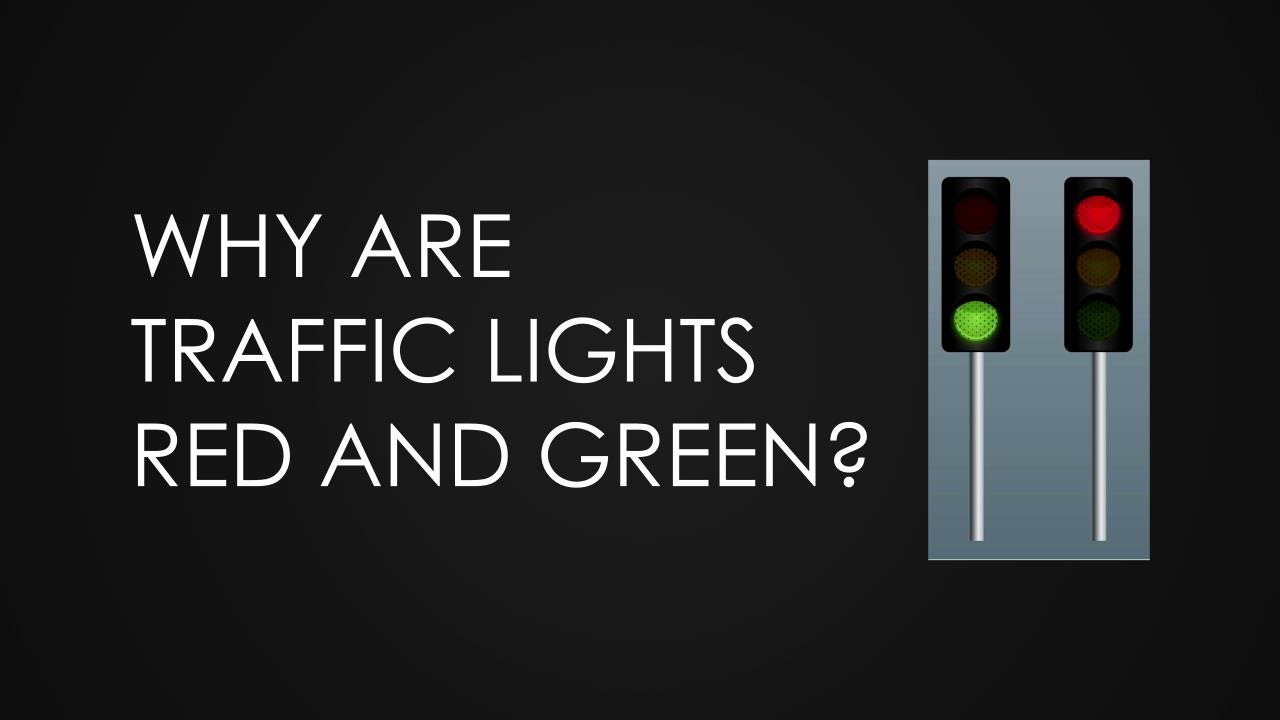 Why Are Traffic Lights Red And Green Youtube Figure 4 Final Circuit Oneway Road Intersection Light