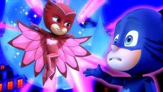 PJ Masks Super Pigiamini Lavoro di squadra ⭐️ L'avventura di Super Luna 🌙 Episodi | Cartoni Animati