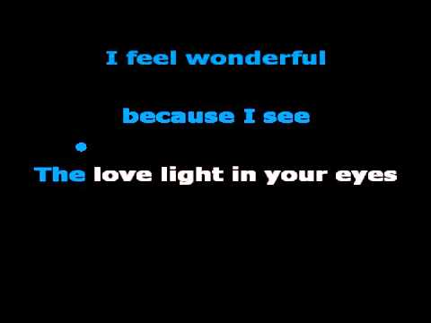 Wonderful Tonight (karaoke) - in the style of Eric Clapton