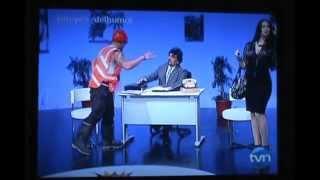 Ofelia Puig - Poveda K4G y Ofelia - Los Reyes del Humor TVN-2 en....El jefecito !!!