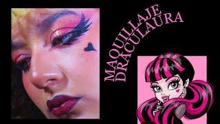 Maquillaje inspirado en Draculaura Monster High -Marfe