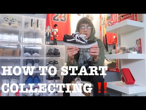HOW TO START A SNEAKER COLLECTION FROM NOTHING!