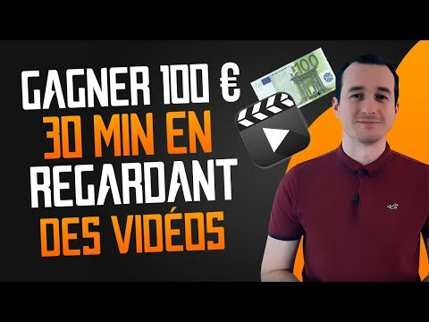 Gagner 100 € En 30 Minutes En Regardant Des Vidéos ! 🎥