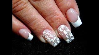 ТОП удивительный дизайн ногтей Маникюр гель лаком Свадебный дизайн