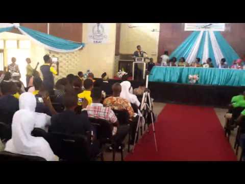 Ghana SHS students debate