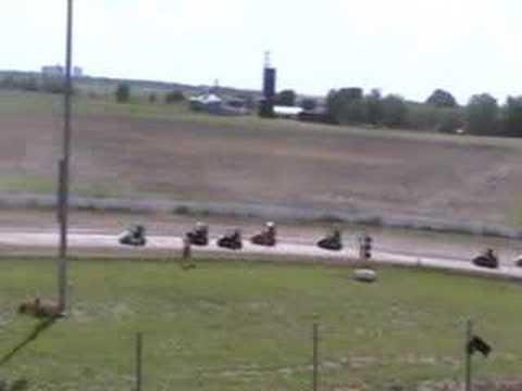 LSS Senior Champ Kart feature 6/1/08