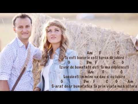 Alin si Emima Timofte - Vreau sa fiu ca Tine (cu acorduri) (Official Audio)