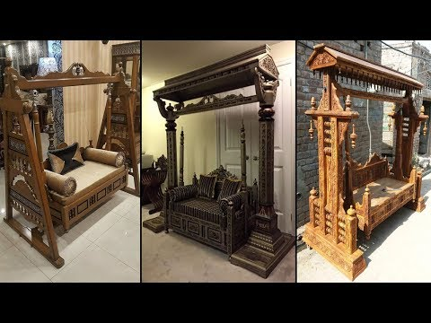40 Beautiful Wooden Jhoola Designs   Wooden Jhula For Living Room 2019