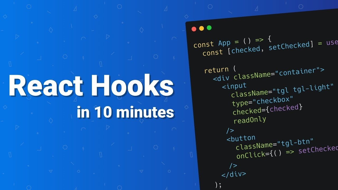 React Hooks in 10 Minutes