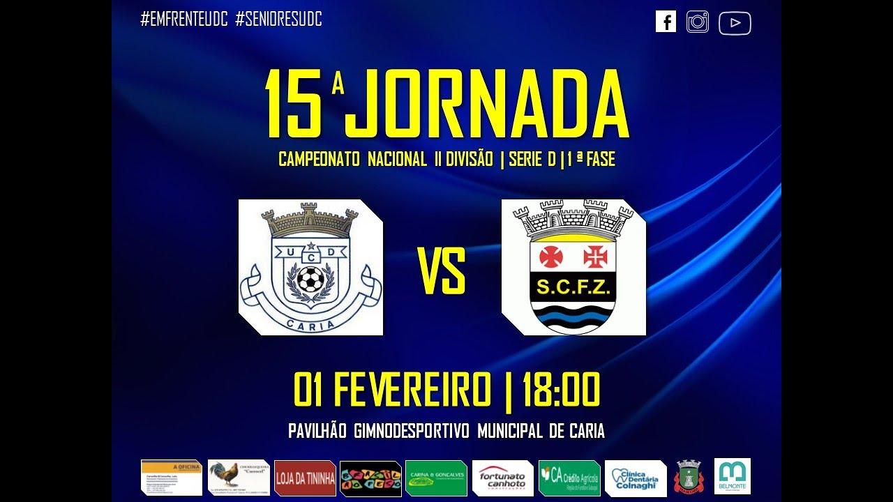 Golos | UD Cariense 3 - 4 SC Ferreira Zêzere (Época 2019 ...
