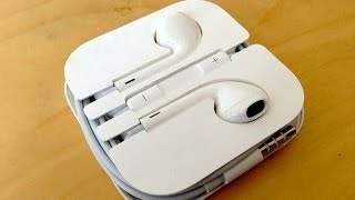 How to put iPhone Headphones back in Case