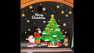 colordeco 크리스마스 스티커, 시트지, 장식(커…