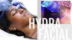 THAT Came Out of My Face?!| PORE VACUUM SUCTION| My HydraFacial Experience