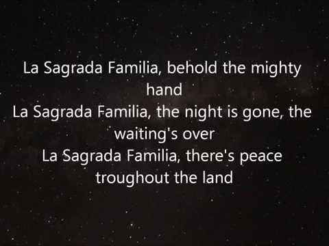 la sagrada familia the alan parsons project lyrics