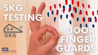 Arte Viva SKG Testing Door Finger Guard - Finger Alert Pro 1 million times!
