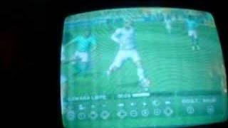 Finta del Bofo en FIFA 08 de Nintendo Wii