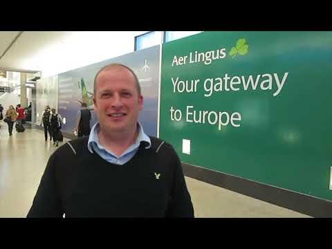 Aer Lingus fam trip to Hartford the flight