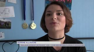 Portrait : une jeune villepreusienne meilleure apprentie de France