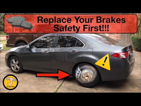 How To Replace Brake Pads On Acura TSX