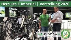 Hercules E-Imperial 2020 | Ein solides City & Komfort e-Bike