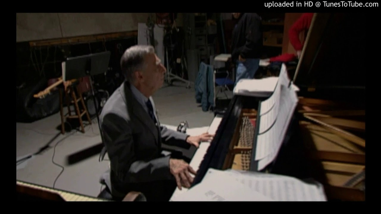 Mister Fred Rogers Playing Piano Youtube
