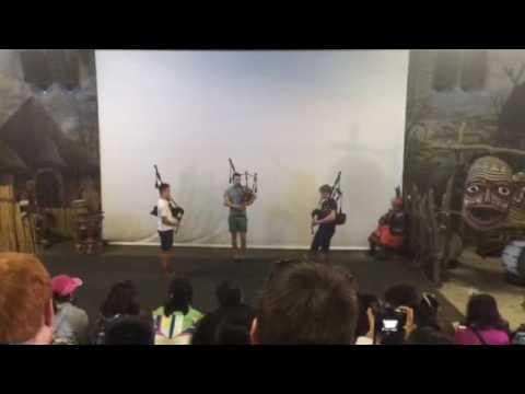 Glenalmond entertain at Lesedi Cultural Village