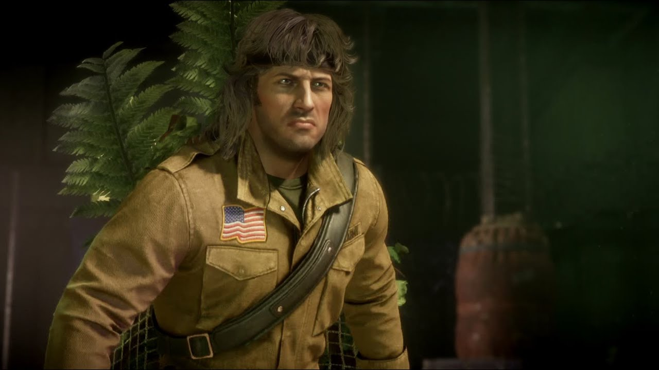 MK11 Arcade Mode #37 - Rambo