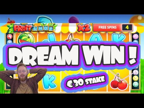 The Fruit Shop Cherry DREAM WIN!!!