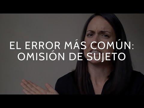 Como hablar inglés como un nativo: El error más común