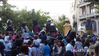 LOS GIGANTES Y CABEZUDOS DE ZARAGOZA