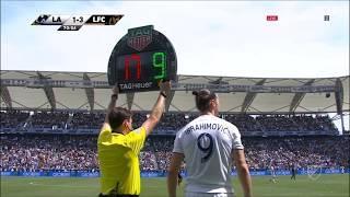 Zlatan Ibrahimović | LA Galaxy 4-3 Los Angeles | 2018 MLS Matchday 5