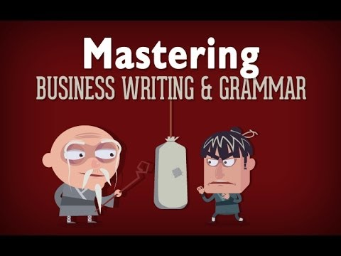 Business Writing & Grammar - Course Overview
