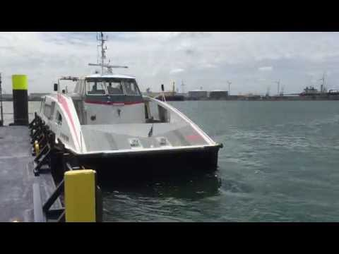 Traveller: The Netherlands, Hoek van Holland - Maasvlakte, RET High Speed Ferry