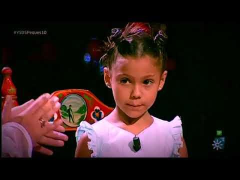 Actuación de Manuela yo soy del sur peque