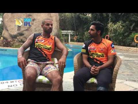 IPL Chit chat with Shikhar Dhawan & Bhuvneshwar Kumar