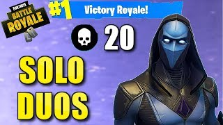 Solo Duos 20 Bombe! Nouvelle peau de présage! - Fortnite Battle Royale Gameplay - Darth 20 Bomb #11 (Xbox)