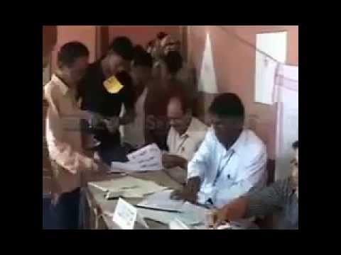 Fraud Voting in India captured in Video leaked
