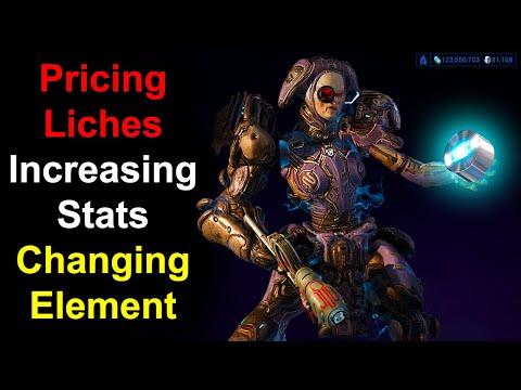 Warframe How To Price Kuva Liches, Change Stats U0026 Elements