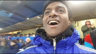HAZARD DOUBLE SEALS THE WIN! || CHELSEA 3-0 WEST BROM MATCH VLOG || MATCHDAYS WITH LEWIS