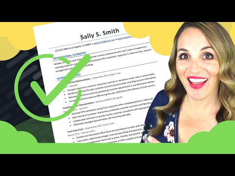 How To Write A Resume Step By Step – 6 SIMPLE Steps To Write A Resume