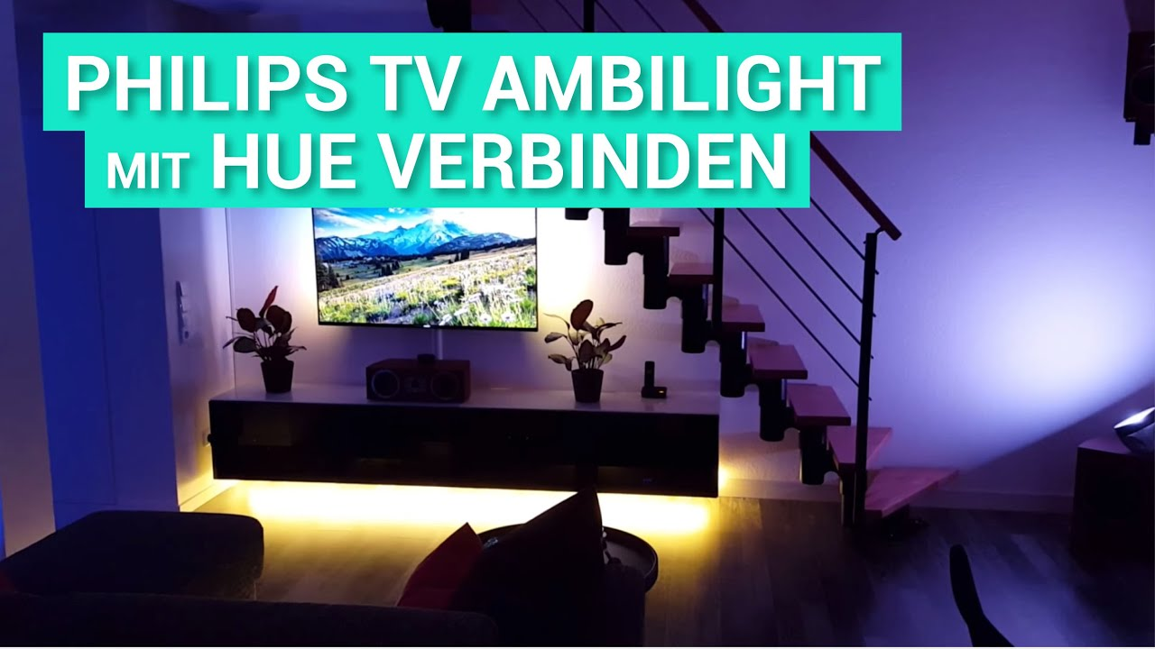 Philips 49pus7909 Smart Tv Ambilight Philips Hue Philips Living Colors Demo Youtube